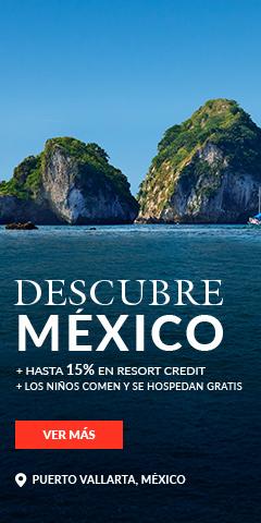 Descubre México, Garza Blanca Resort Puerto Vallarta