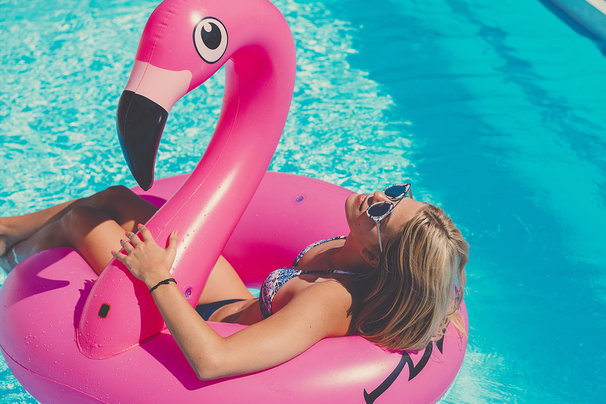Pool inflatables Flamingos