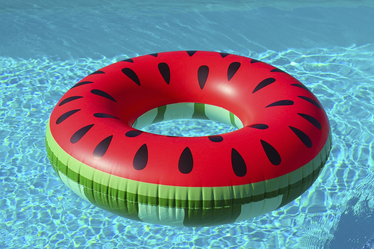 Pool inflatables watermelon