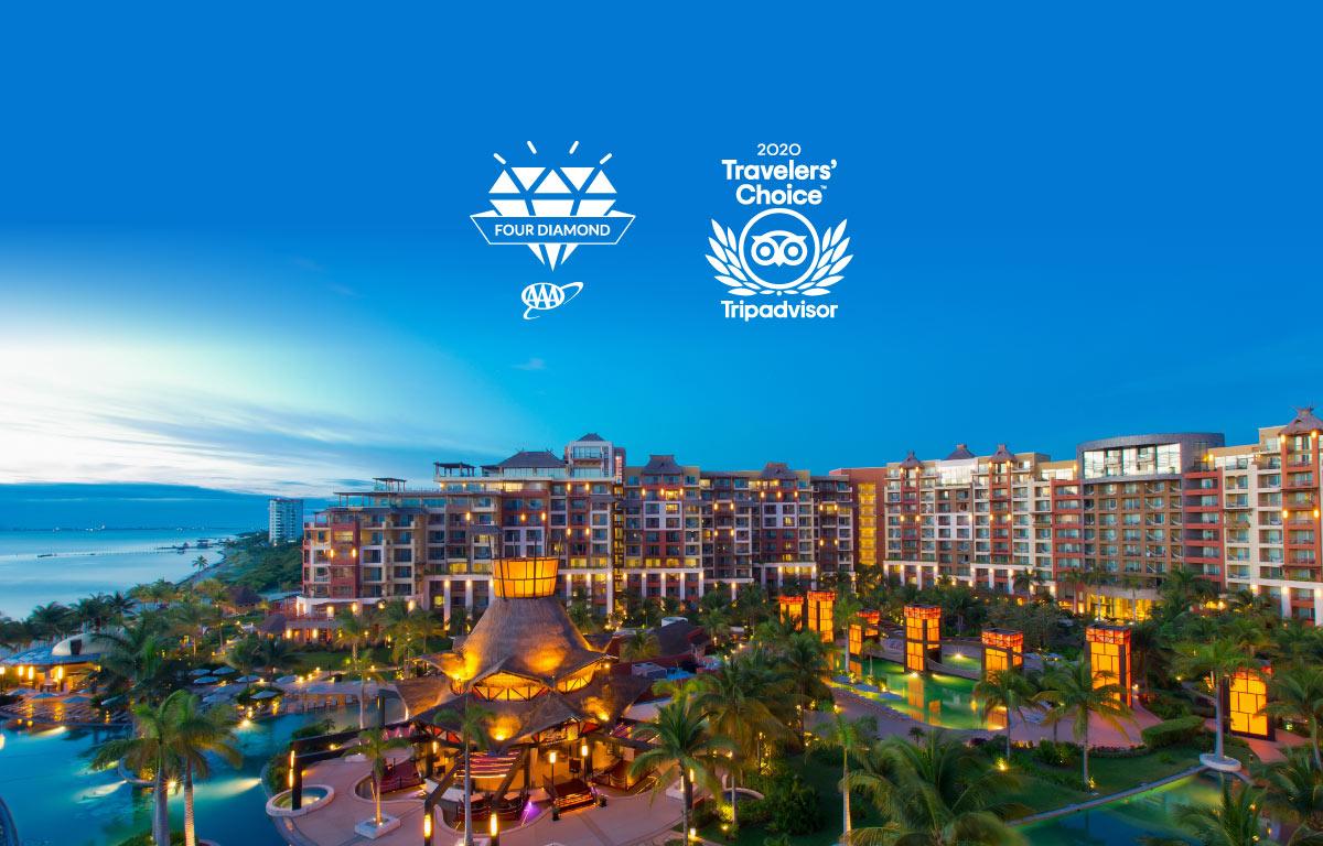 Villa del Palmar Cancun Received Four Diamonds AAA