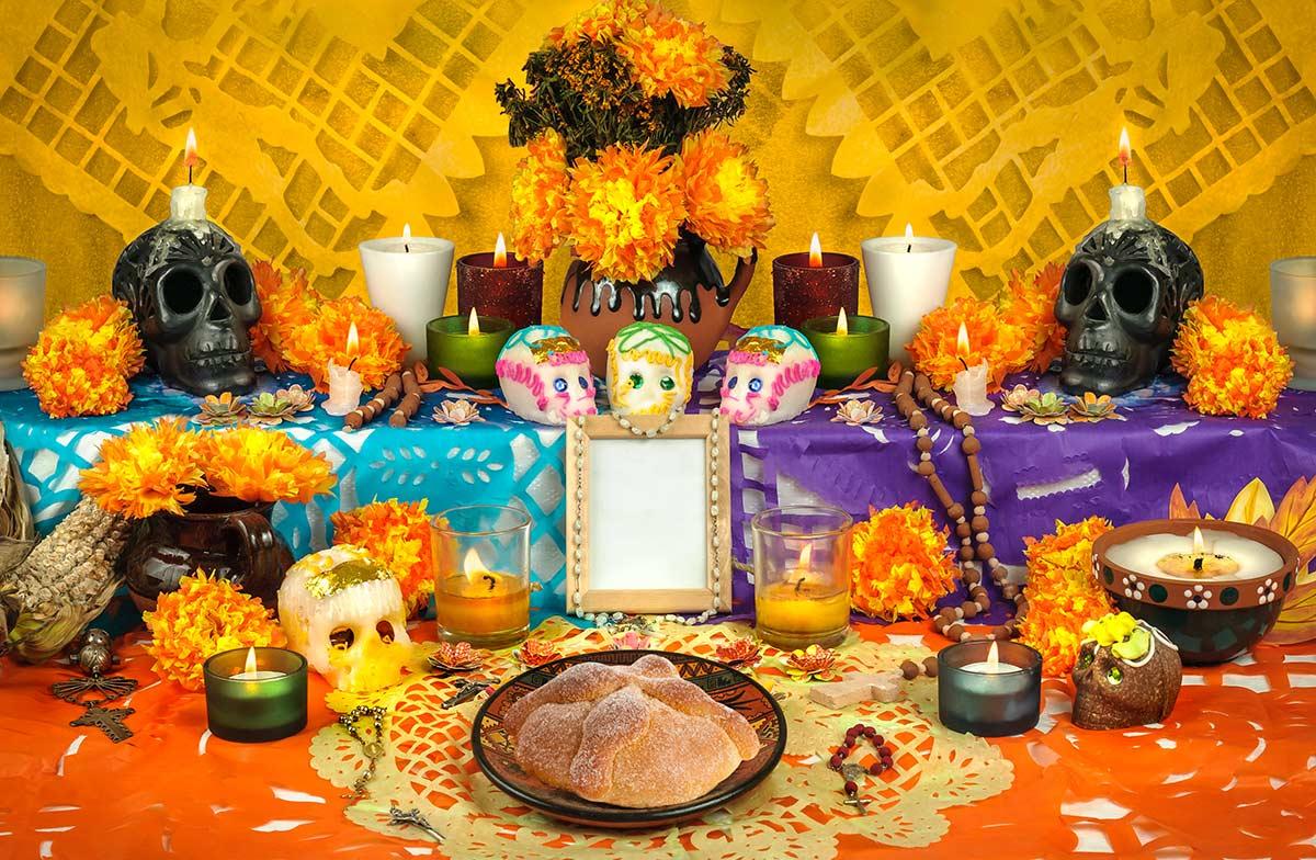 Altars Honor the Deceased