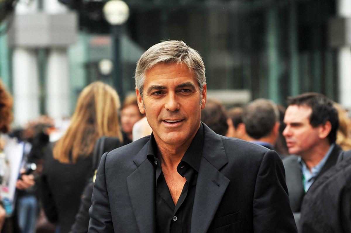George Clooney Vacations in Los Cabos