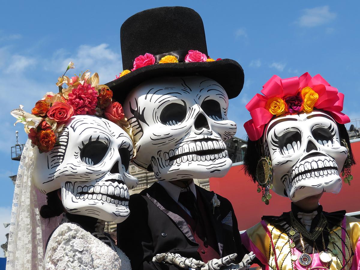Catrina Day of dead (Día de muertos)