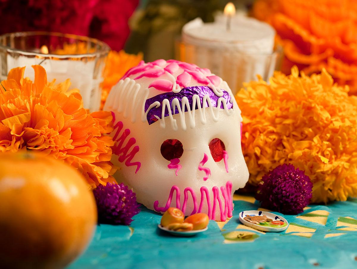 Sugar skulls day of the dead