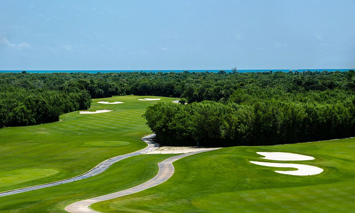 golf courses in cancun