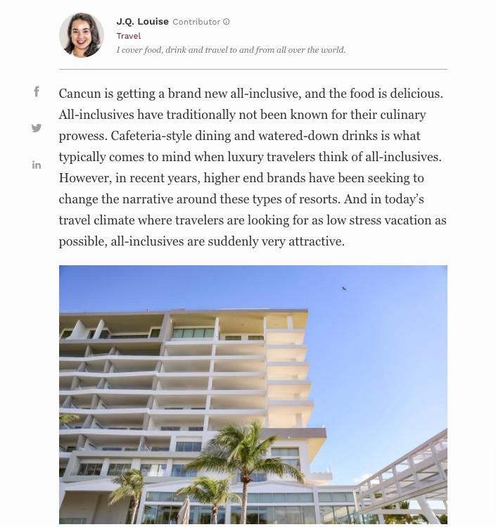 garza blanca cancun forbes article