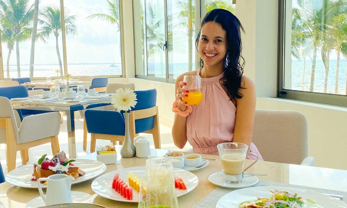 breakfast at garza blanca cancun