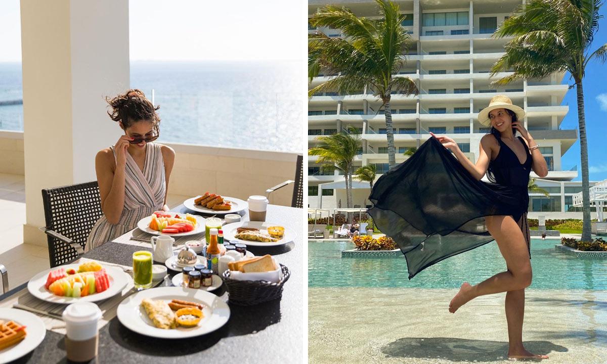 garza blanca cancun room service
