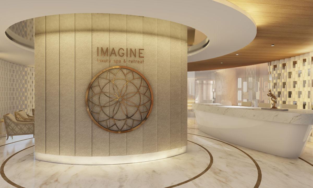 lobby spa imagine in cancun
