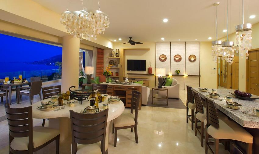 Three Bedroom Panorama Suite Three Bedroom Panorama Suite; 3 Bedroom Panorama Diningroom Garza Blanca Residences  ...