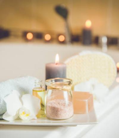 Menú de aromaterapia