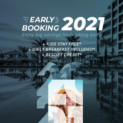 Early booking bonus sale Garza Blanca Los Cabos 2021