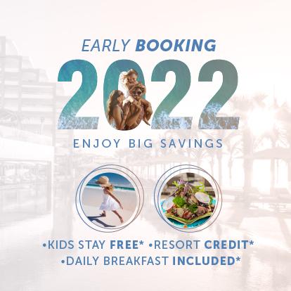 Early booking bonus sale Garza Blanca Los Cabos 2022
