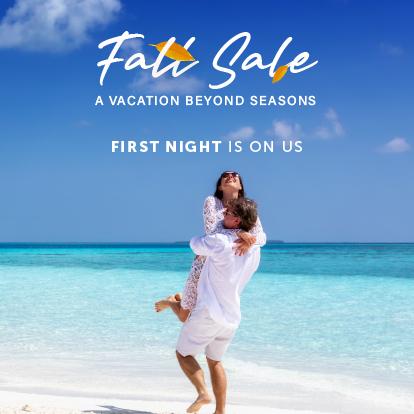 Fall Sale in Cancun