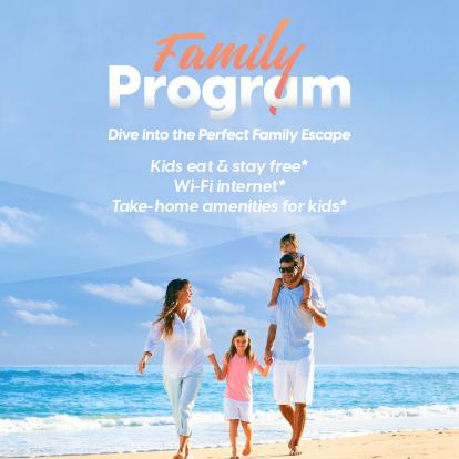 Family program garza blanca resort puerto vallarta