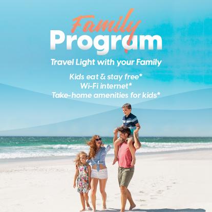 Family Program Garza Blanca Cancun