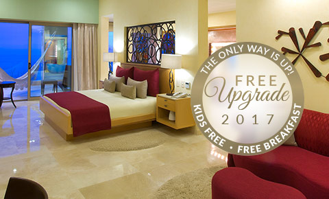 Free Luxury Upgrade Garza Blanca Resort