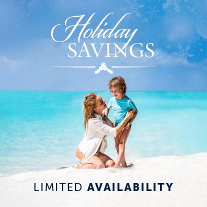 Holiday savings Garza Blanca Cancún