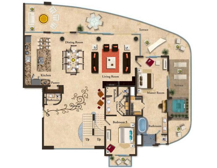 The Grand Penthouse Garza Blanca Preserve Resort Amp Spa