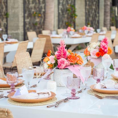 Wedding ceremony in Los Cabos