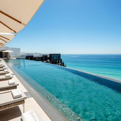 Amazing Infinity Pool at Garza Blanca