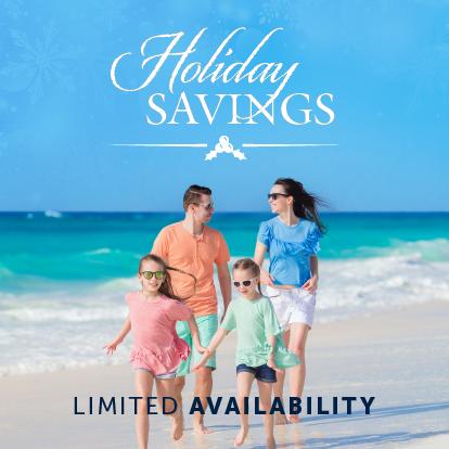 Holiday savings Garza Blanca Los Cabos