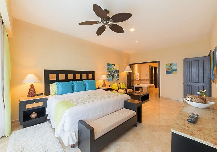 One Bedroom Suite Hotel Garza Blanca Spa & Resort