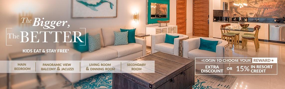 best two bedroom suite los cabos garza blanca resort
