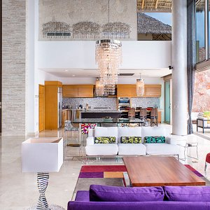 The Grand Penthouse - Private living room