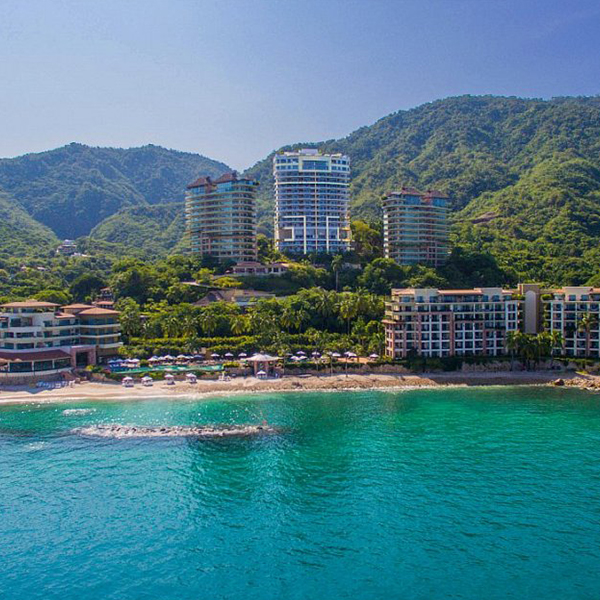 Garza Blanca Puerto Vallarta Panoramic View