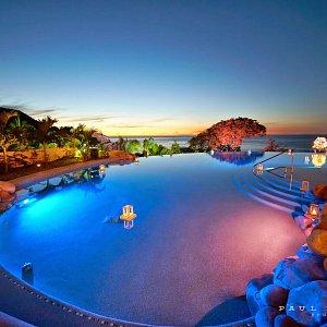 Pool area - Garza Blanca Preserve