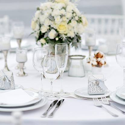 Paquete de recepción de bodas Platino Garza Blanca Cancún