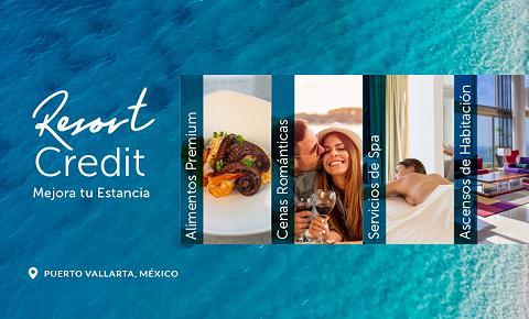 créditos del resort garza blanca puerto vallarta