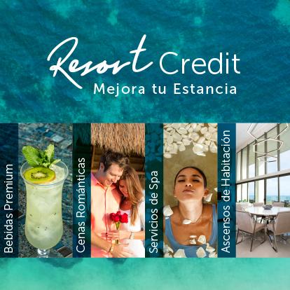 Créditos del Resort Garza Blanca Cancun