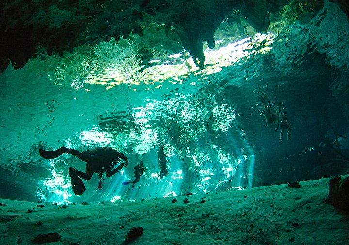 Exploring Cenotes in Riviera Maya