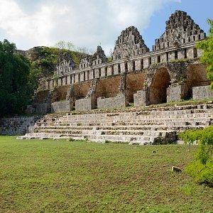 House of Pigeons in Maya City Uxmal