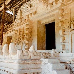 Maya Ceremonial altar en Ek Balam