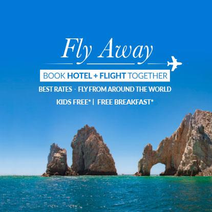 Fly Away Offer Garza Blanca Resort Los Cabos