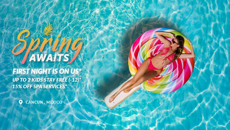Enjoy a safe spring vacation in Cancun