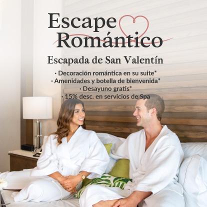 Escapada de San Valentín en Garza Blanca Cancún