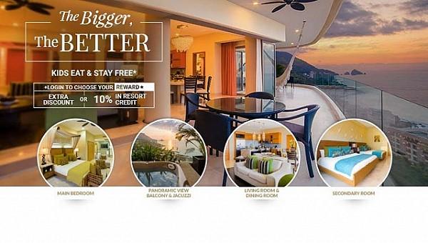 best two bedroom suite puerto vallarta garza blanca resort
