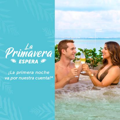 Especial de Primavera  Garza Blanca Cancún