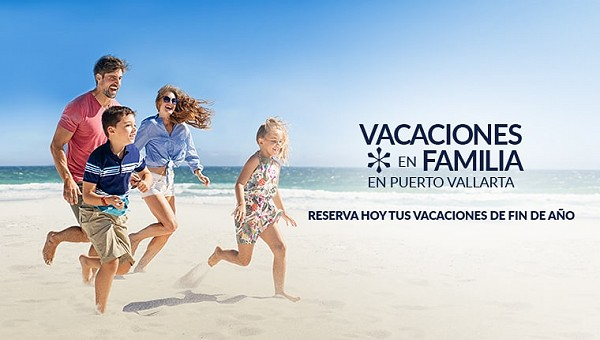 vacaciones en familia en puerto vallarta