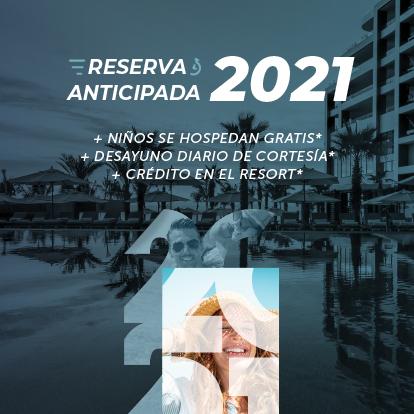 Venta anticipada 2021 Garza Blanca Los Cabos