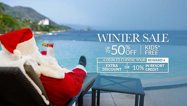Winter Paradise Sale Garza Blanca Resort Puerto Vallarta