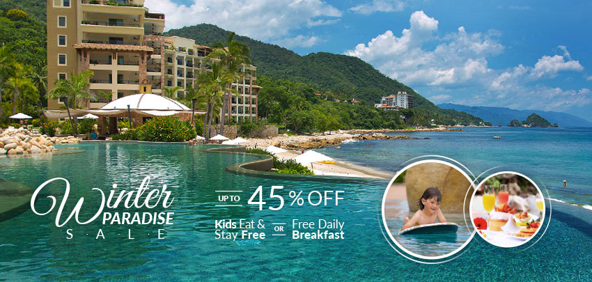 Winter Paradise Sale Garza Blanca Resort Puerto Vallarta