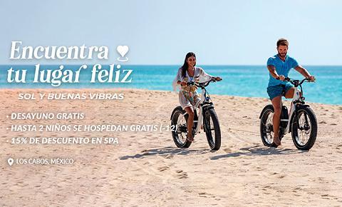 Encuentra tu lugar feliz Garza Blanca Los Cabos